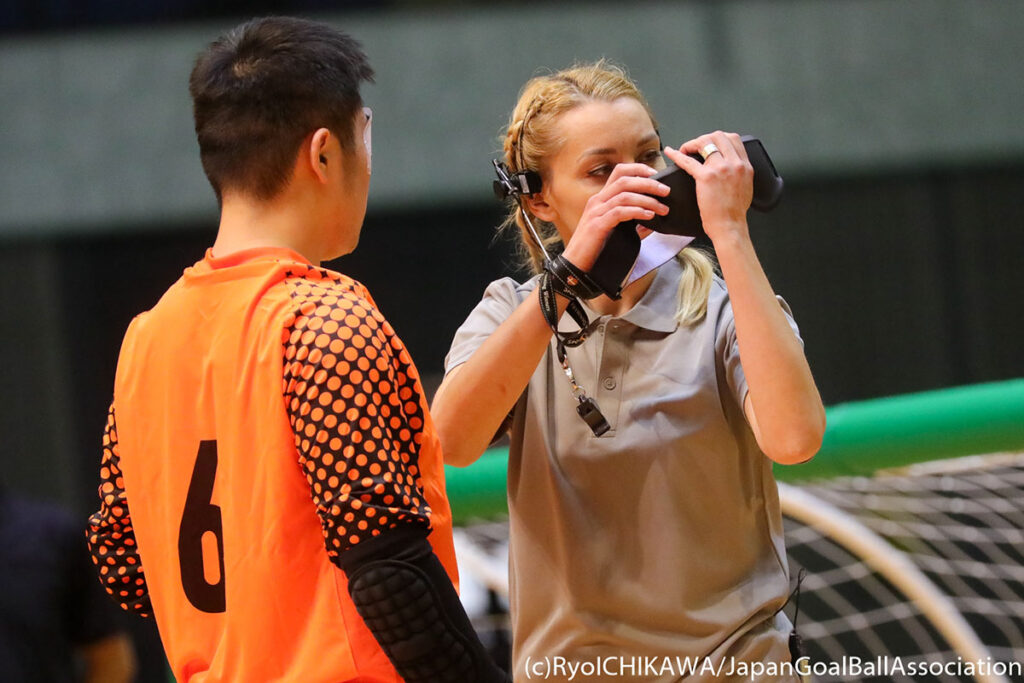 Referees wanted for goalball Euros B